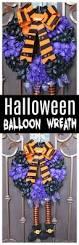 easy to make halloween wreaths diy halloween balloon wreath