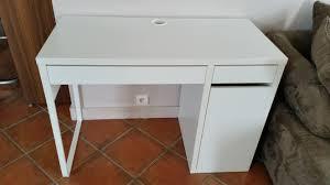 micke bureau blanc bureau micke bureau noir ikea clasf micke desk white blue ikea