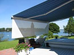 Residential Canvas Awnings Canvasworks Inc In Kennebunk Maine Awnings Retractable Deck