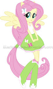 mlp eg the equestria girls fluttershy vector by electricgame