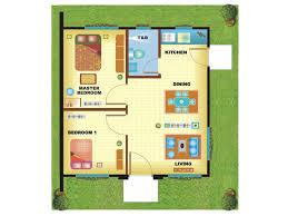 2 Bedroom Designs Excellent Design Small Bungalow House Floor Plan Philippines 13 2
