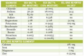 sea salt equivalent to table salt celtic sea salt sel gris not even a pinch paleo