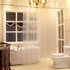 Bathroom Hardware Ideas Amazing Hanging Clear Shower Curtain Inspiration Of Classy Ideas