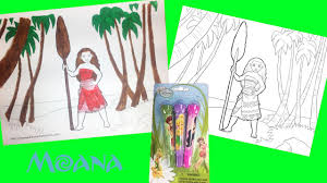 disney moana coloring page fairies princess mickey mouse