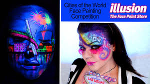 cities of the world face painting competition illusion magazine