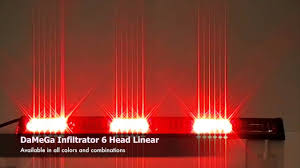 Damega Light Bar by Damega Engineering Infiltrator 6 Head Linear Youtube