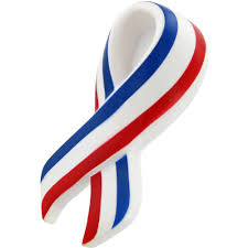 patriotic ribbon promotional patriotic ribbon stress toys with custom logo for 0 788 ea