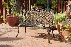 backyard bench swing home outdoor decoration