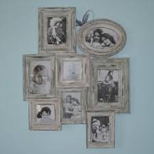 shabby chic wooden vintage style multi photo frame wedding gift