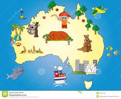 Austrailia Map Australia Map Stock Photography Image 14676742