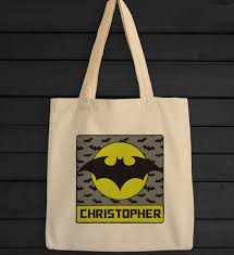 custom halloween bags personalized bat spit crazy trick or treat bag