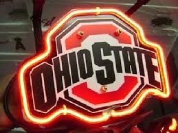 ohio state neon light brand new ohio state budweiser beer neon light sign 14 x 8 high