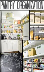 Pantry Organizer Ideas by Organized Pantry Reveal One Room Challenge Polished Habitat