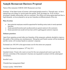 10 business proposal letter for restaurant bussines proposal 2017