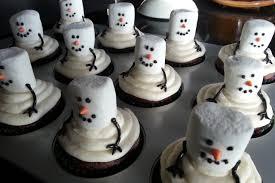 snowman marshmallows snowman cupcakes recipe