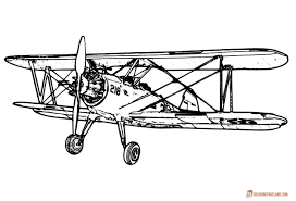 airplane coloring pages free printable b u0026w pictures airplanes