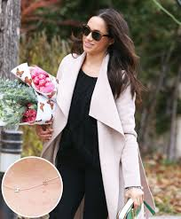 meghan markle toronto address meghan markle wears personalized necklace for prince harry pics