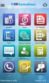 Sbi Online Help Desk State Bank Samadhaan Android Apps On Google Play