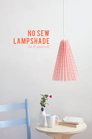 Fabric Pendant Light by Diy No Sew Fabric Pleated Pendant Lamp The House That Lars Built