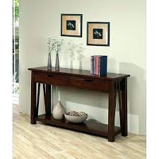 table with drawers and shelves two shelf console table furniture bar console table wine rack