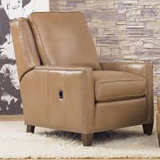 Recliner Chair Side View Transitional Power Reclining Chair With Nailhead Trim By Smith