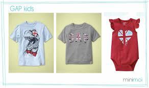 British Flag Shirts Flag Kids Minimoi