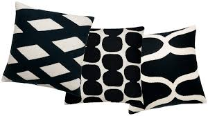 black and white sofa pillows with concept image 25618 imonics