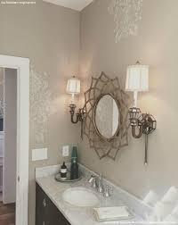 Bathroom Wall Stencil Ideas Diy Vintage Style Ideas With The Antoinette Damask Stencils