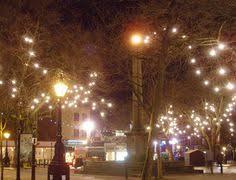 twilight christmas shopping in the shambles york uk museum