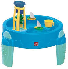 infant activity table toy amazon com step2 waterwheel activity play table toys games