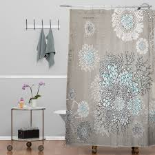 Bed Bath And Beyond Shower Curtain Blue And Coral Shower Curtain Coral Grey Light Blue Shower