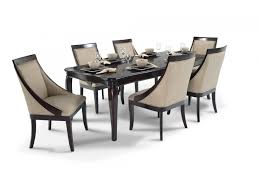 bobs furniture kitchen table set gatsby 7 dining set with swoop chairs dining room sets
