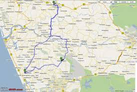 Map My Driving Route by My Trip To Sabarimalai And Other Temples In Kerala Page 9 Team Bhp