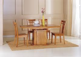 dining cottage oak and painted small extending dining table