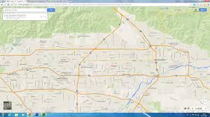 Tecate Mexico Map by Fontana California Map