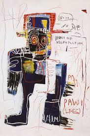 irony of the negro policeman 1981 jean michel basquiat