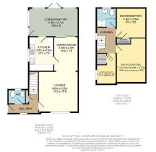 Conservatory Floor Plans 3 Bedroom Semi Detached House For Sale In Danby Close Hull Hu8 9lq