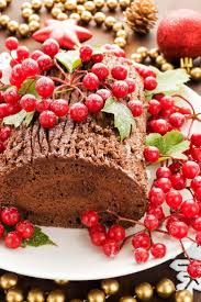 chocolate yule log cake best cheap healthy christmas party food