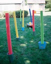 tons of backyard olympic games to get kids in the spirit
