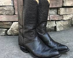 womens cowboy boots size 9 wide mens cowboy boots etsy