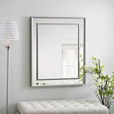 Kirklands Bathroom Mirrors by Infinity Frameless Wall Mirror Kirklands