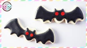 vampire knight cookies bat cookies halloween cookies