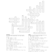 periodic table puzzle worksheet answers inspirational crossword puzzle printable templates letters