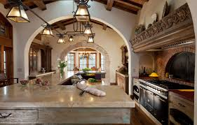 Spanish Colonial Kitchens A Little Dark But Love The Light - Interior design spanish style