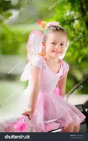 portrait happy little fairy costume stock photo 157519268