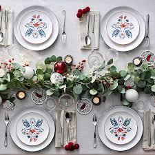 christmas dinnerware christmas dinnerware ten of the best christmas plates shoppersbase