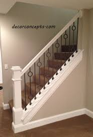 Stair Banisters Railings Custom Fabricated Metal Balusters Handrail Stair Banister