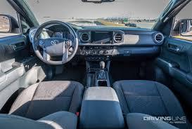 toyota tacoma interior 2017 first drive 2016 toyota tacoma trd off road drivingline