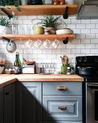 ideas for shelves in kitchen best 25 floating shelves kitchen ideas on regarding