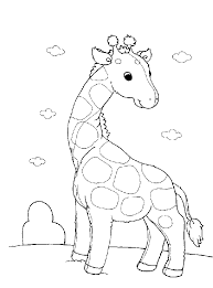 giraffe coloring pages coloring pages for kids